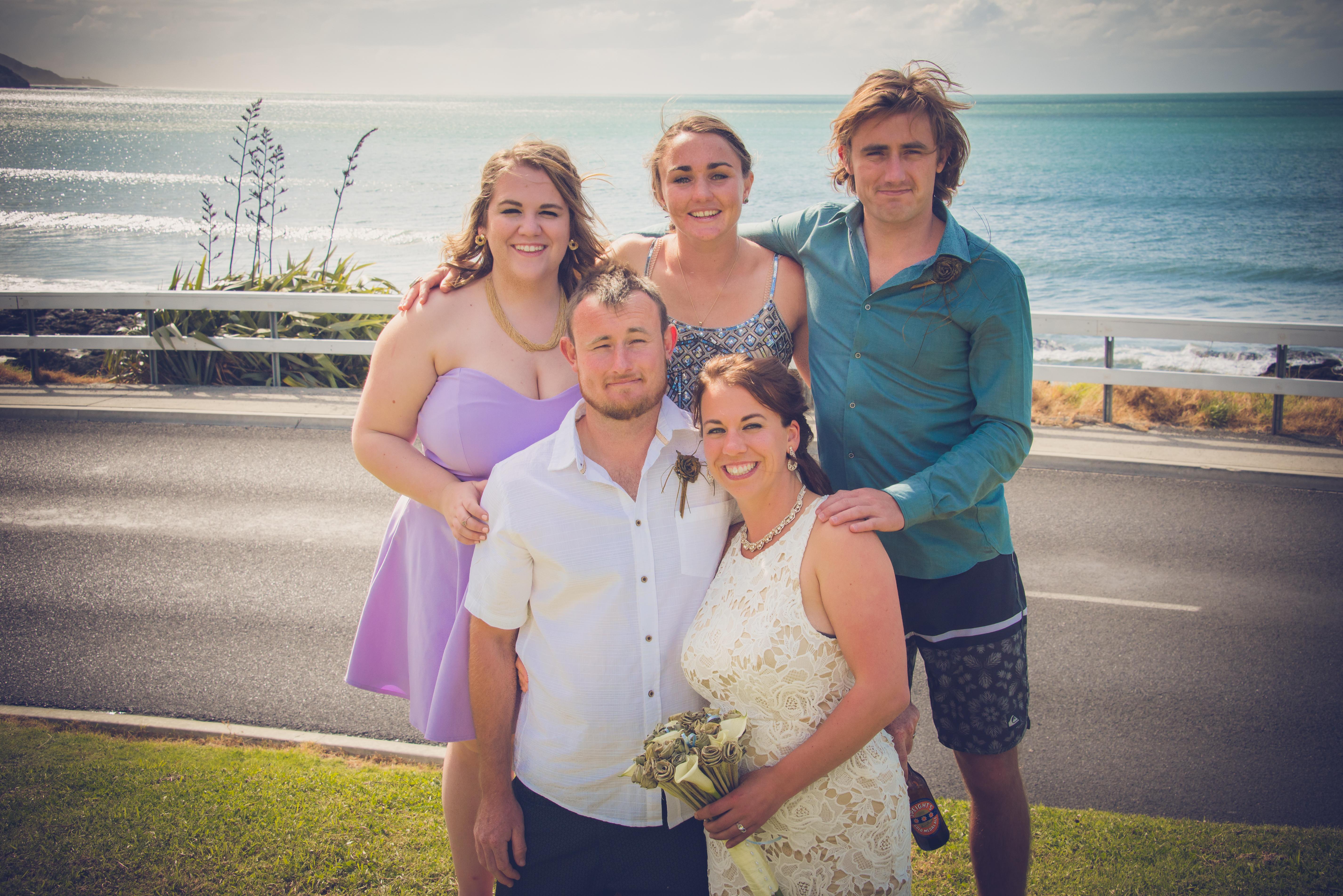 NEW ZEALAND BEACH WEDDING